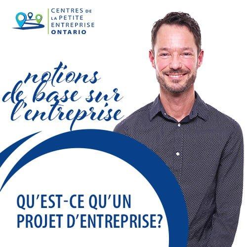 Qu'est-ce qu'un projet d'entreprise?
